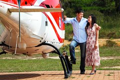 The Ultimate Engagement at Glenmere Mansion with Private Helicopter