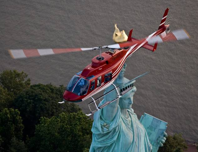 The 15 Minute Liberty Helicopter Tour