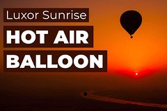 Deluxe Hot air Balloon Luxor
