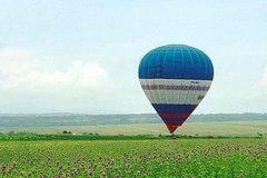 Hot-air balloon trip above Plovdiv