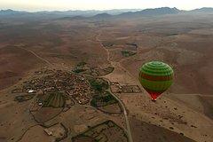 Marrakech Classic Hot Air Balloon Flight with Berber Breakfast
