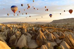 2 Days Cappadocia Tour from Istanbul with Cave Hotel & Balloon Ride