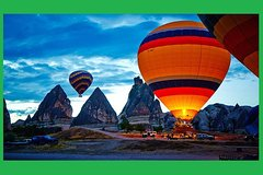 Cappadocia Balloon Ride with Ihlara Valley and Derinkuyu Underground City Tour