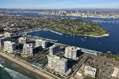 Helicopter Tour - Oceanside to Downtown San Diego/Coronado and back!