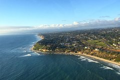 Helicopter Tour - Oceanside to Cardiff-By-The-Sea and back!