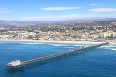 Helicopter Tour - Oceanside Harbor/Pier and back!