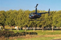 Thornton Winery Helicopter Excursion - Landing at the Winery!
