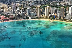 Helicopter Flight over Pearl Harbor & Luxury Small Group Island Tour