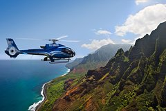 Full-Day Air, Helicopter, Land Volcano Adventure from Oahu
