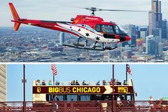 Big Bus Chicago Hop-on Hop-off and Helicopter Tour