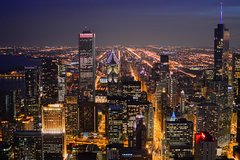 Chicago Premiere Private Helicopter Tour for 4