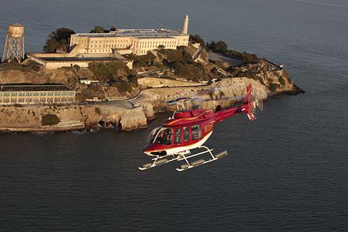 SF Vista + Alcatraz Helicopter Tour