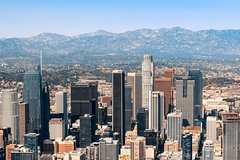 Hollywood/Los Angeles Helicopter Tour from Long Beach