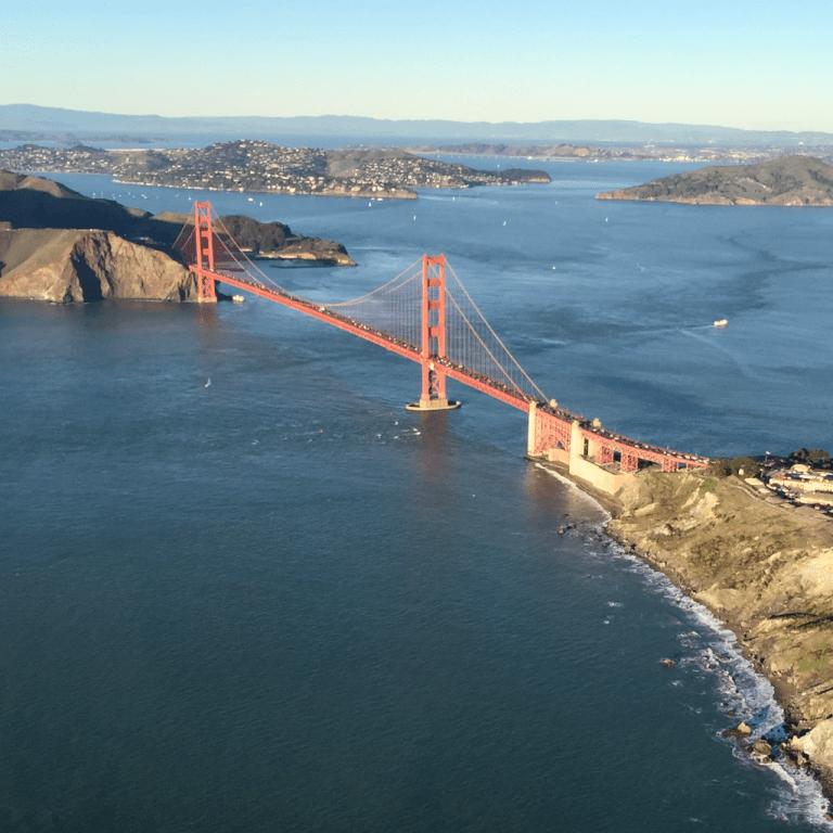 Sacramento the Golden Gate Bridge Helicopter Tour