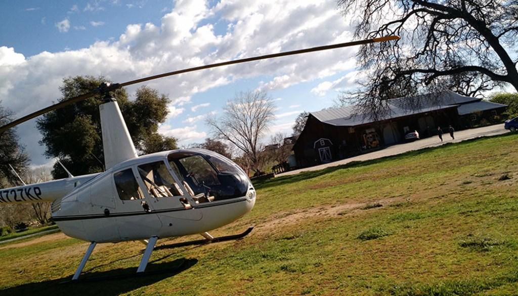 Sacramento Young's Vineyard Helicopter Tour