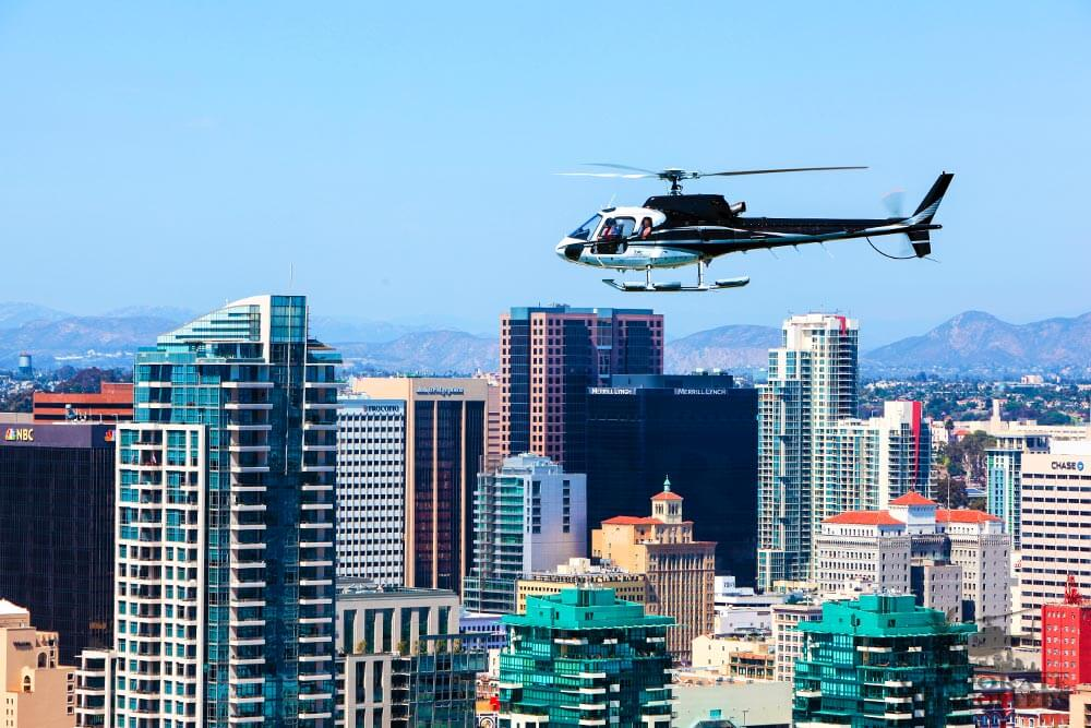 San Diego Surf & Turf Helicopter Tour
