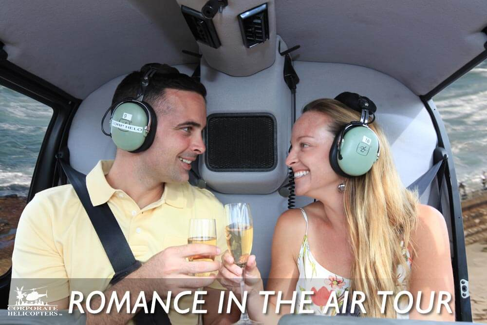 San Diego Romance in the Air Helicopter Tour