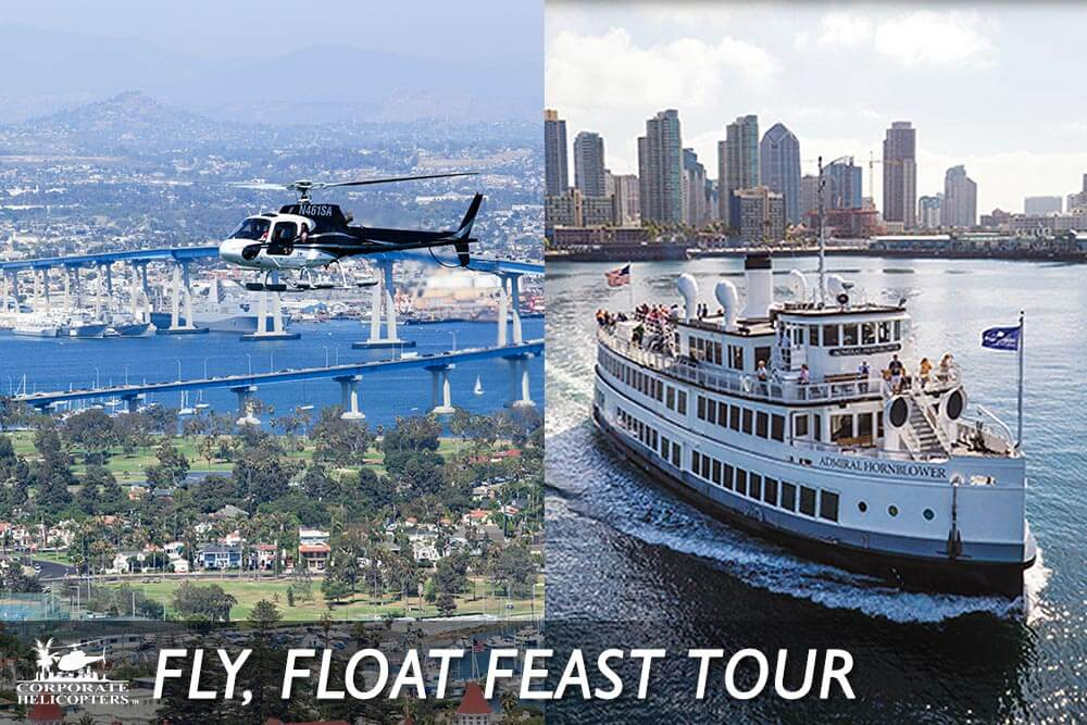 San Diego Fly, Float, Feast Helicopter Tour