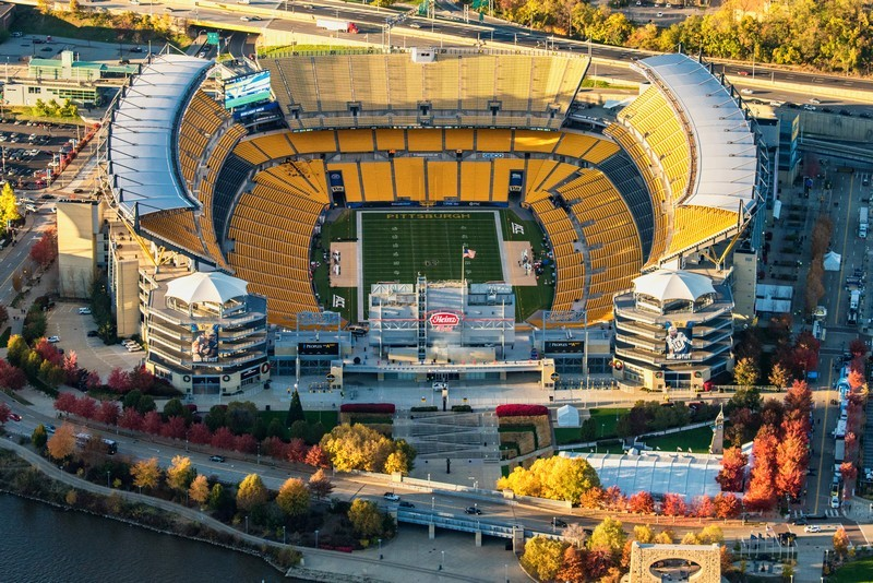 Pittsburgh Stadium Helicopter Tour