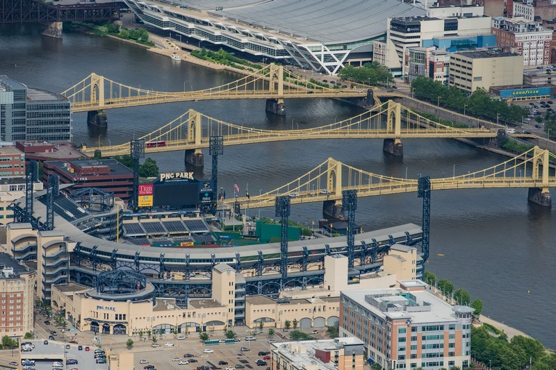 Pittsburgh Bridges Helicopter Tour