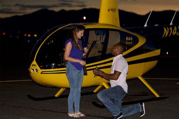 Romantic Escape Helicopter Ride