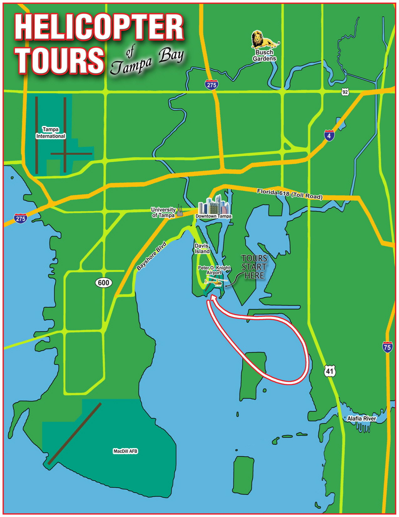 Tampa Bay Helicopter Tour