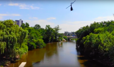Fort Wayne Three Rivers Helicopter Tour