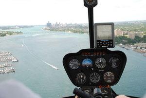 Detroit Helicopter Tour: the 50 Plus Lakes