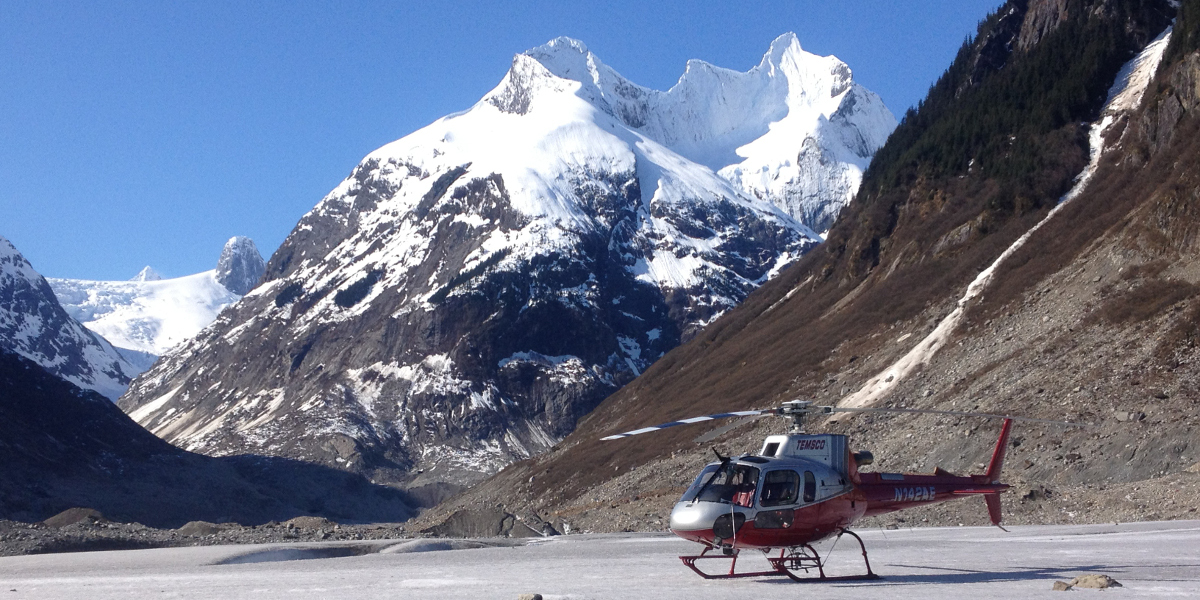 Skagway Glacier Discovery by Helicopter
