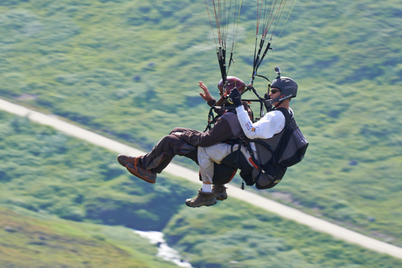 Anchorage Skydance Tandem Paragliding