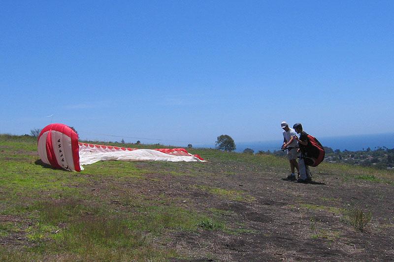 San Francisco Tandem Paragliding Instructional Flights