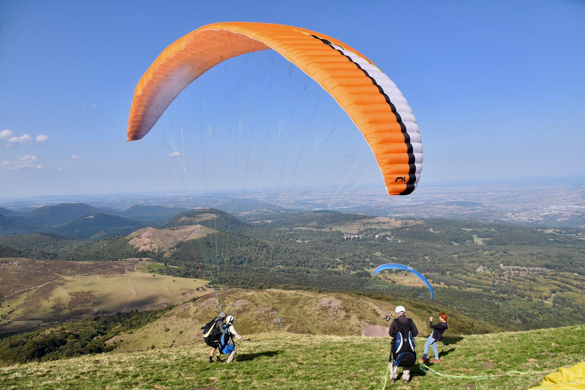 Boulder Paraglide Tandem Flights
