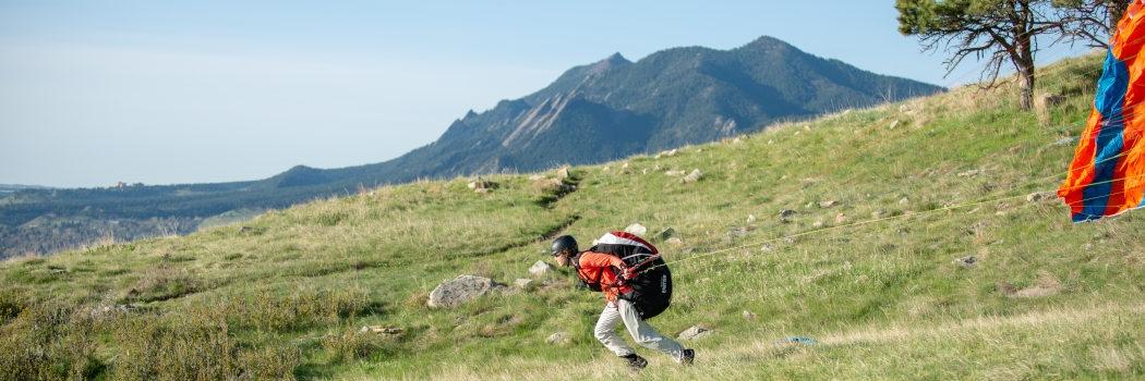 Paragliding Lesson in Boulder
