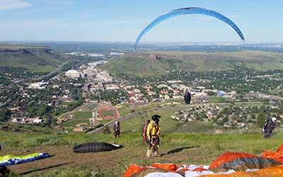 Golden Paraglide Tandem